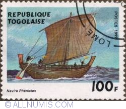 Image #1 of 100 Francs 199 - Phoenician boat