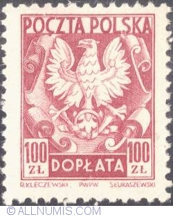 Image #1 of 100 złotych- Polish Eagle
