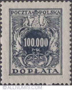 Image #1 of 100000 mark - Polish Eagle