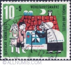 Image #1 of 10+5 pf. - Hansel und Grettel 1961