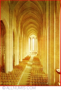 Image #1 of Copenhagen - Gruntvig´s Church (interior of the church)