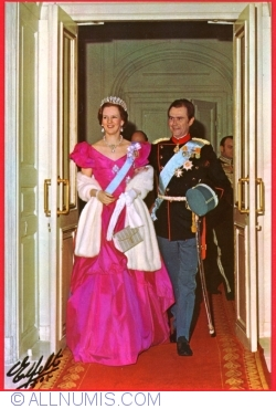 Image #1 of Their Majesties Queen Margrethe II and Prince Henry