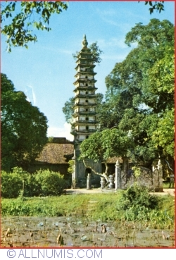 "Nam Dinh - The towering pagoda ""Chua Thap"""