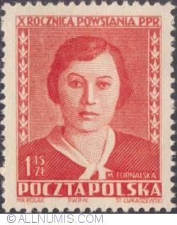 1,15 złotego 1952 -  Małgorzata Fornalska
