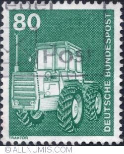 Imaginea #1 a 80 Pfennig - Tractor 1975