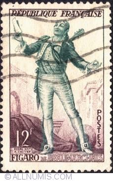 Image #1 of 12 Francs 1953 - Figaro