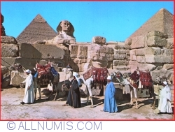 Image #1 of Giza - The great Sphinx and Keops pyramid