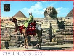 Image #1 of Giza - The great Sphinx and Mykerinos pyramid