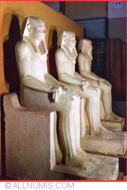 Image #1 of Cairo - The Egyptian Museum (Statues of King Sernusert I )