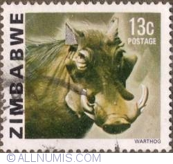 Imaginea #1 a 13 Cents 1980 - Warthog