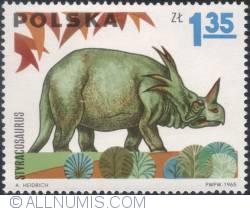 Image #1 of 1,35 złotego 1965 - Styracosaurus