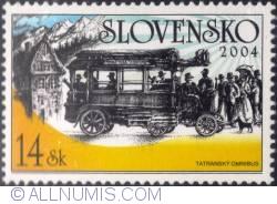 Image #1 of 14 koruna 2004 - Tatra Omnibus