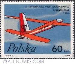 Image #1 of 60 Groszy 1968 - Zephyr Glider