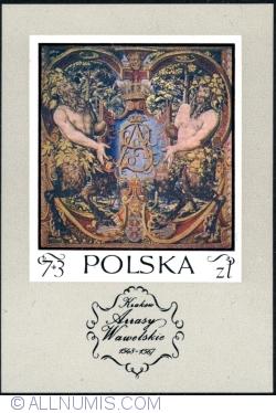 7+3 Złote 1973 - Satyrs holding monogram of King Sigismund Augustus