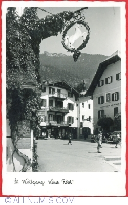 """Image #1 of Sankt Wolfgang - """"White Horse"""" Inn (Weisses Rössl)  (1955)"""