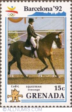 Image #1 of 15¢ 1990 - Equestrian