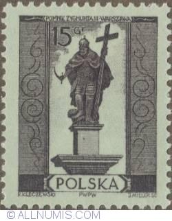 Image #1 of 15 groszy 1955 - Sigismund III