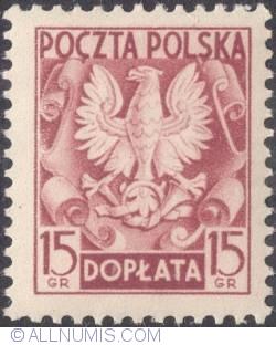 Image #1 of 15 groszy- Polish Eagle ( Without imprint )