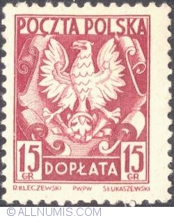 Image #1 of 15 groszy - Polish Eagle