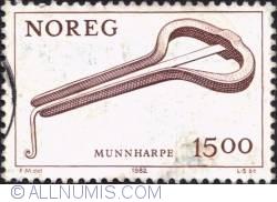 Imaginea #1 a 15 Kroner 1982 - Jew's harp