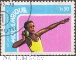 Image #1 of 1,50 Escudo 1978 - Shotput