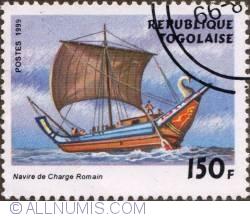 Image #1 of 150 Francs 1999 - Roman cargo boat