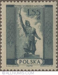 Image #1 of 1,55  złotego 1955 - Jan Kilinski