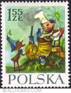 Image #1 of 1,55 złotego - Cook Pietrzyk with gnome