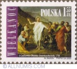 Image #1 of 1,55 Zloty 2009 - Easter