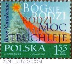 Image #1 of 1,55 Zloty 2010 - Christmas