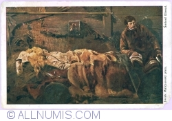 "Image #1 of ""Death of Elenai"" by Jacek Malczewski (1912)"