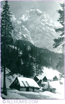 Image #1 of Strążyńska Valley - View of the Giewont Mountain (1952)