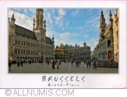 Image #1 of Brussels - Market Place (Grand Place) (2010)