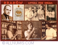 "Image #1 of Kraków - ""Under The Eagle"" Pharmacy - The staff in 1942 (2010)"