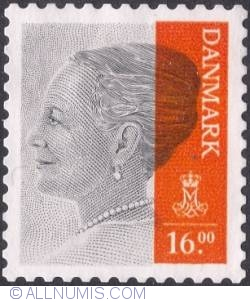 Image #1 of 16 kroner 2013 - Queen Margrethe II