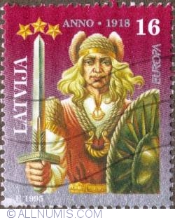 Image #1 of 16  Spidola with sword and shield 1995