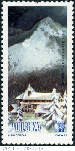 """Image #1 of 1,55 Złoty 1972 - Cabana """"Hala Gasienicowa"""""""
