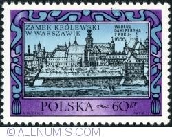 Image #1 of 60 Groszy 1972 -  Warsaw Royal Castle, 1656, by Erik Johnson Dahlbergh