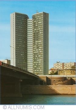 Moscow - The building of the Counsil for Mutual Economic Assistance (1979)
