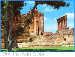 Baalbeck - A view of the ruins