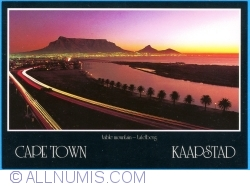 Image #1 of Cape Town - Caapstad - Table Mountain at night
