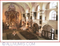 Image #1 of Jelenia Gora - Cieplice Śląskie-Zdrój (Bad Warmbrunn) - The Baroque interior of the church of John the Baptist (XVIII century) (2015)