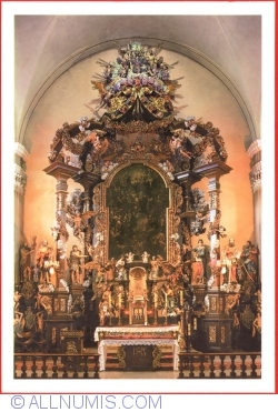 Image #1 of Jelenia Gora - Cieplice Śląskie-Zdrój (Bad Warmbrunn) - John the Baptist church - altar (XVIII century) (2015)