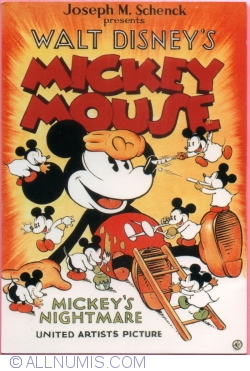 Image #1 of Mickey Mouse. Mickey`s nightmare (2010)