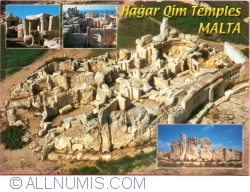 Image #1 of Malta - Hagar Qim Prehistoric Temples c. 2700 B.C. (2007)