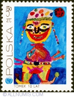 Image #1 of 5,50 Złote 1971 - Clown by Tomek ( Kajdański ) 10 years
