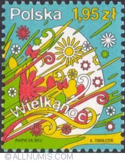 1,95 Zloty 2012 - Easter egg