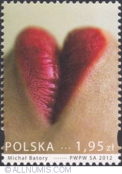 Image #1 of 1,95  złoty  2012 - Heart