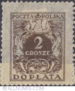 Image #1 of 2 grosze- Polish Eagle