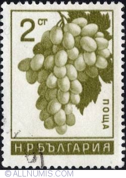 Image #1 of 2 Stotinki - Grapes 1965